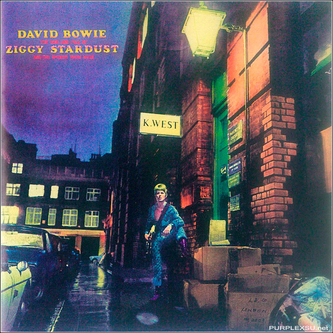 David Bowie The Rise and Fall of Ziggy Stardust and the Spiders from Mars (1972)