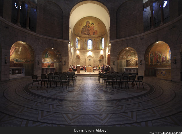 耶路撒冷锡安山的Dormition Abbey
