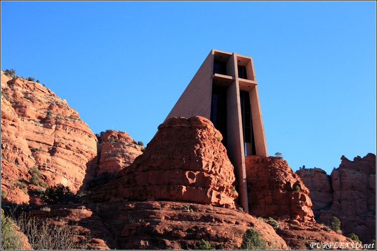 Chapel of the Holy Crossing in Sedona, Arizona